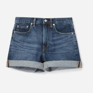Everlane Vintage Blue Denim Shorts NWOT